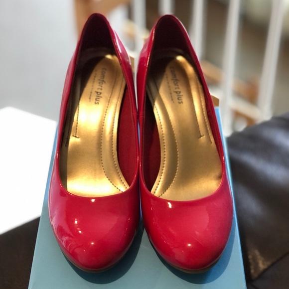 Pink Comfort Plus Heels - LIKE NEW!